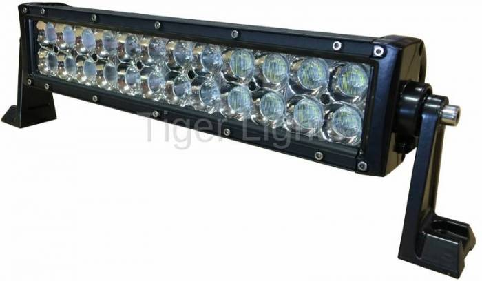"Tiger Lights - 14"" Double Row LED Light Bar"