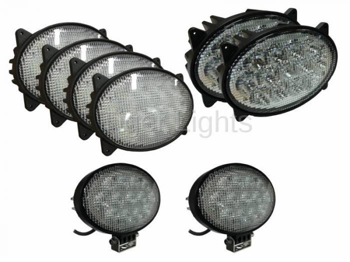 Tiger Lights - LED Case/IH Combine Light Kit, TL7120-KIT