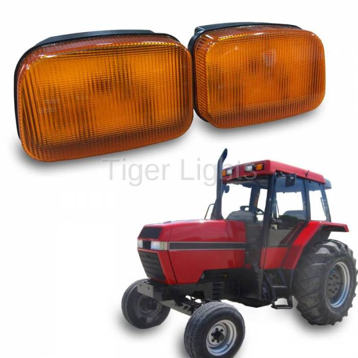 Tiger Lights - LED Case/IH Amber Cab Light, TL7010