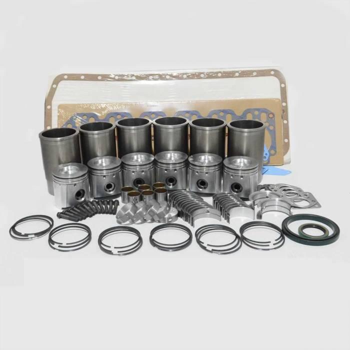 6-Cylinder Stock Photo