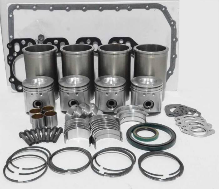 Stock Photo of 4-Cylinder Engine Kit