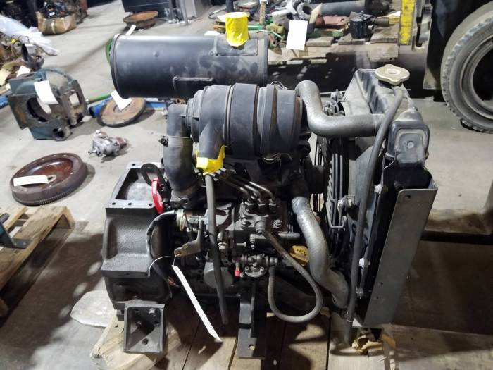 Used Engines - Yanmar 3TNE68-GIA  Used Power Unit Engine