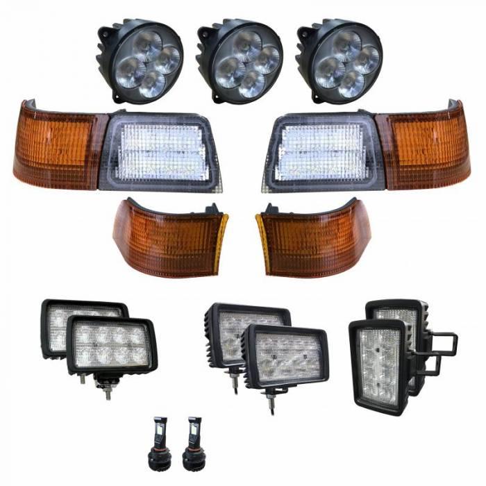 Tiger Lights - CaseKit4 - Case/IH - Complete LED Light Kit for Newer Magnum Tractors