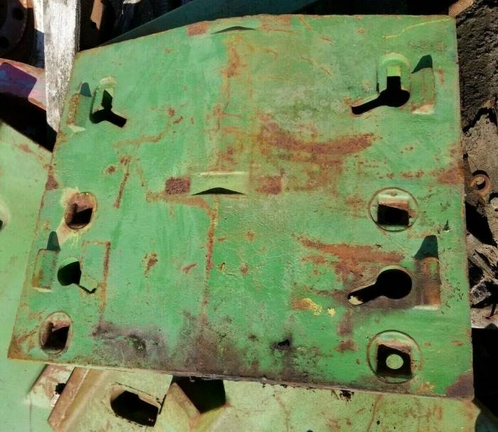 Farmland - R44350 - John Deere DOUBLE FRONT STACK WEIGHT, USED