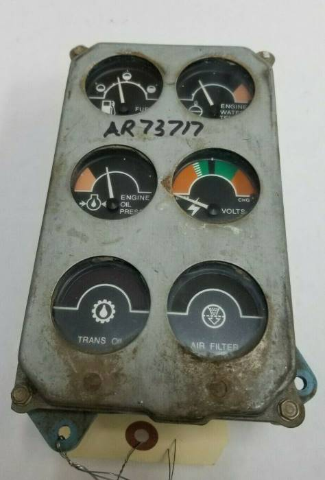 Farmland Tractor - AR73717 - John Deere INSTRUMENT CLUSTER, Used