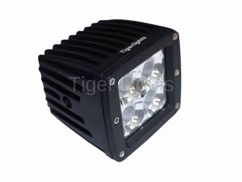 """Tiger Lights - LED 3"""" x 3"""" Square Spot Beam, TL200S"""