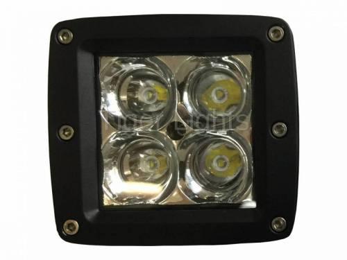 """Tiger Lights - LED 3"""" x 3"""" Square Spot Beam, TL200S - Image 2"""