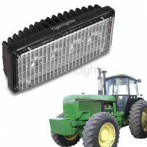 Tiger Lights - Small Rectangular LED Headlight, RE306510