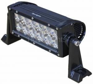 "Electrical Components - Tiger Lights - 8"" Double Row LED Light Bar, TLB400C"