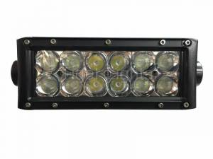 "Tiger Lights - 8"" Double Row LED Light Bar, TLB400C - Image 2"