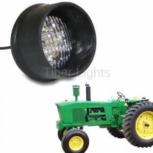 Tiger Lights - LED Round Tractor Light (Rear Mount), TL2060