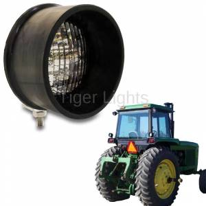 Tiger Lights - LED Round Tractor Light (Bottom Mount), TL2080