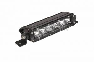 "Tiger Lights - 6"" Single Row LED Light Bar, TL6SRC"