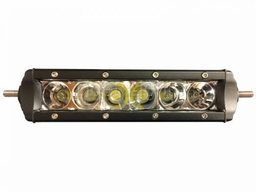 "Tiger Lights - 6"" Single Row LED Light Bar, TL6SRC - Image 2"