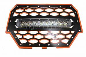 Tiger Lights - Polaris RZR 900/1000 Orange Grille, TLRZR1000OWL