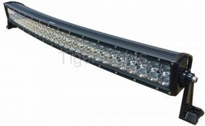 "Electrical Components - LED Lights - Tiger Lights - 32"" Curved Double Row LED Light Bar, TLB430C-CURV"