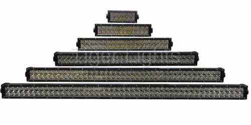 "Tiger Lights - 50"" Double Row LED Light Bar, TLB450C - Image 4"