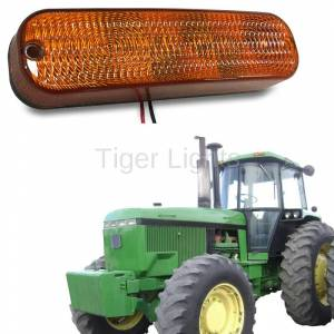 Electrical Components - Tiger Lights - LED Amber Cab Light, AR60250
