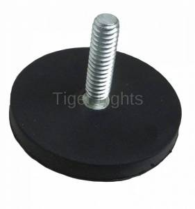 "Tiger Lights - Rubberized Magnet 2.5"", RM2"