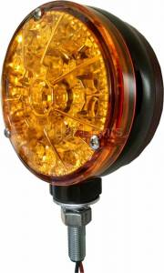 Electrical Components - LED Lights - Tiger Lights - Double Amber LED Flashing Light, TLFL2