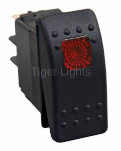 Tiger Lights - LED Rocker/Toggle Switch, TLSW1
