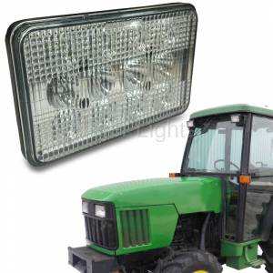 Electrical Components - Tiger Lights - High/Low Beam 5000 Series LED Light, TL5500