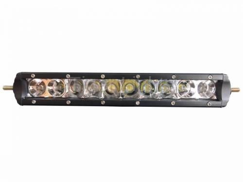 "Tiger Lights - 10"" Single Row LED Light Bar, TL10SRC - Image 2"