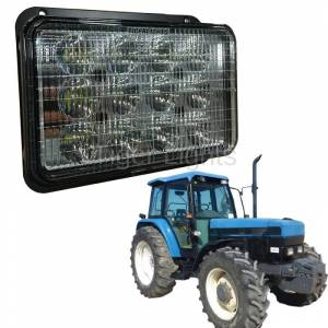Electrical Components - Tiger Lights - LED Headlight for Ford New Holland, TL7740