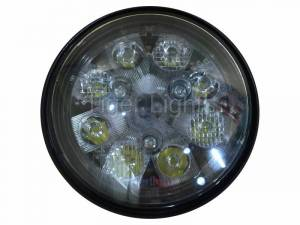 Tiger Lights - 24W LED Sealed Round Hi/Lo Beam with Screw Connection, TL3025, RE25126 - Image 2