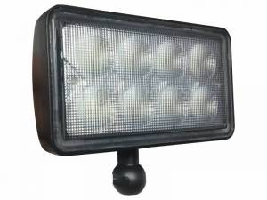 Electrical Components - LED Lights - Tiger Lights - 8000 Series LED Tractor Light w/ Interchangeable Mounts, TL8400