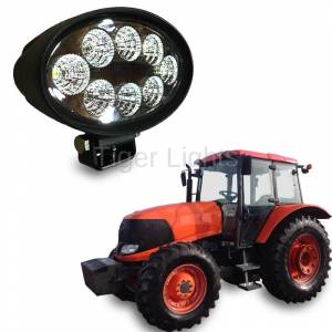 Electrical Components - Tiger Lights - Kubota Oval LED Flood Light, TL5700