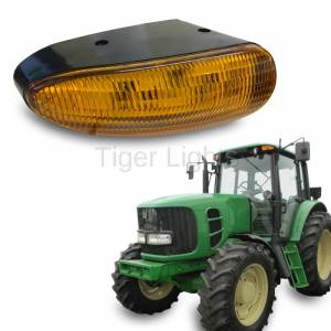 Electrical Components - Tiger Lights - LED Amber Cab Light, TL8020