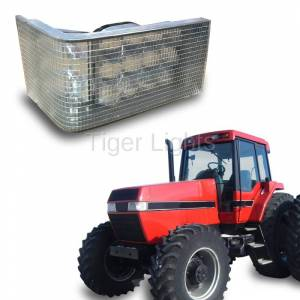 Electrical Components - Tiger Lights - LED Case/IH Magnum Right LED Headlight, TL7140R