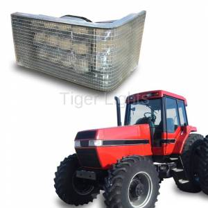 Electrical Components - Tiger Lights - LED Case/IH Magnum Left LED Headlight, TL7140L