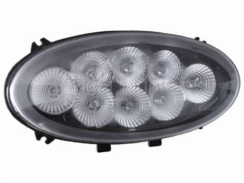 Tiger Lights - Oval Flush Mount LED Upper Cab Light, TL8050