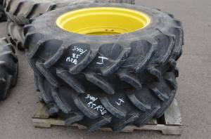 Used Tires/Wheels - Firestone Tires/Wheels 340/85/R28 (J)