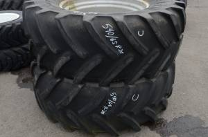 Used Parts - Used Wheels & Tires - Used Tires/Wheels - Michelin Tires/Wheels 540/65 R30 x M108 (U)