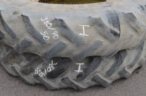 Used Parts - Used Wheels & Tires - Used Tires/Wheels - Goodyear Tires/Wheels 380/90-R50 (I)