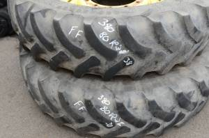 Used Parts - Used Wheels & Tires - Used Tires/Wheels - Firestone Tires/Wheels 380/80 R38 (FF)