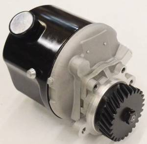 4WD Front Axle & Steering - Pumps - E6NN3K514EA99M - Ford New Holland POWER STEERING PUMP