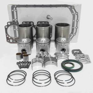 Engine Components - Farmland - 201TD - Ford MAJOR OVERHAUL ENGINE REBUILD KIT
