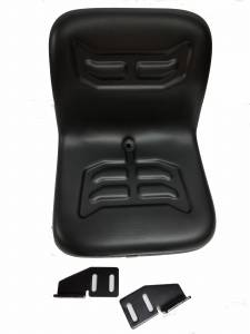 "Seats & Cab Components - Farmland - VLD1590 - Allis Chalmers, Case/IH, Ford New Holland 16"" NARROW FLIP STYLE DISHPAN SEAT"