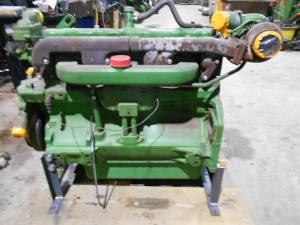 Used Engines - JD9600-1 - John Deere 9600 Used Engine 6076T