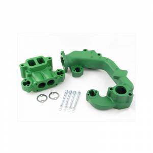 Engine Components - Manifolds and Parts - RE - F3034K - For John Deere INTAKE/EXHAUST MANIFOLD