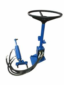 4WD Front Axle & Steering - Steering - Farmland - EINN3N503BS - Ford New Holland POWER STEERING CONVERSION KIT