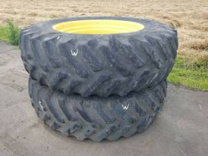 Used Tires/Wheels - 20.8R 42 - John Deere ARMSTRONG TIRES (W)
