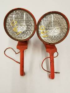 Electrical Components - LED Lights - Farmland Tractor - 70242975 - Allis Chalmers 190XT HEADLIGHTS, Used