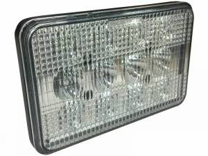 Electrical Components - LED Lights - Tiger Lights - CaseKit2 - Complete LED Light Kit for Case/IH Combines