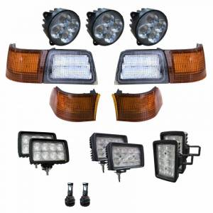 Electrical Components - LED Lights - Tiger Lights - CaseKit4 - Case/IH - Complete LED Light Kit for Newer Magnum Tractors