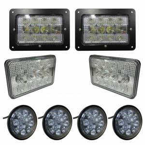 Electrical Components - LED Lights - Tiger Lights - CaseKit5 - Complete LED Light Kit for Case/IH 88 Series